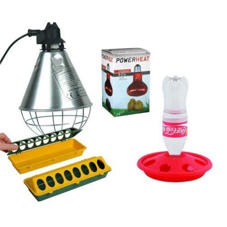 Kit inicial para cría de pollitos de primera edad N2