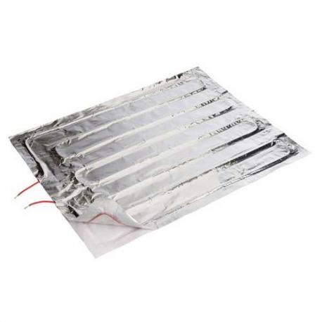 Manta calefactora adhesiva para panel calienta pollos o terrarios