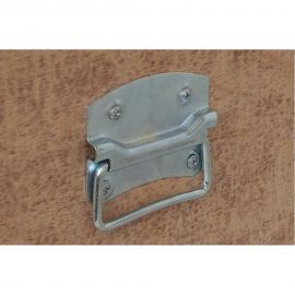 Asa lateral para caja de trasporte L10cm Chapa galvanizada