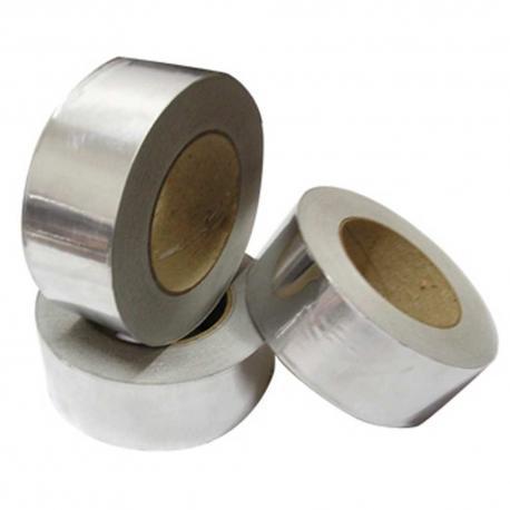 Rollo de cinta adhesiva de aluminio de 50mmX50m