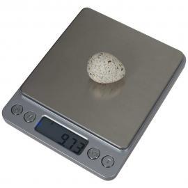 BALANZA DIGITAL COMPACTA Inox de Precisión 0.01 GRAMOS