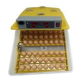 Incubadora con volteo automático de 48 huevos