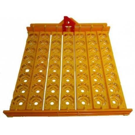 Bandeja para volteo automático de huevos en incubadora casera 56 Huevos Gallina