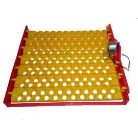 Bandeja para volteo automático de huevos en incubadora casera 154 Huevos Codorniz