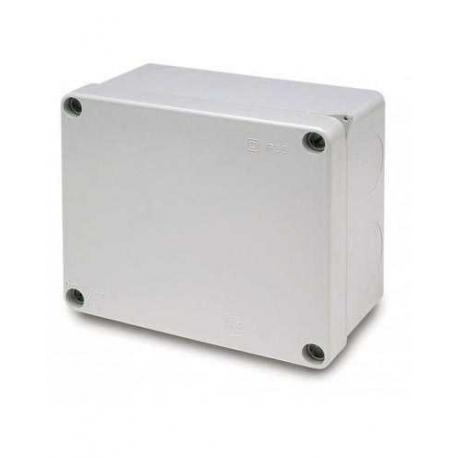 Caja plástica estanca ciega para montaje 160x135x83mm