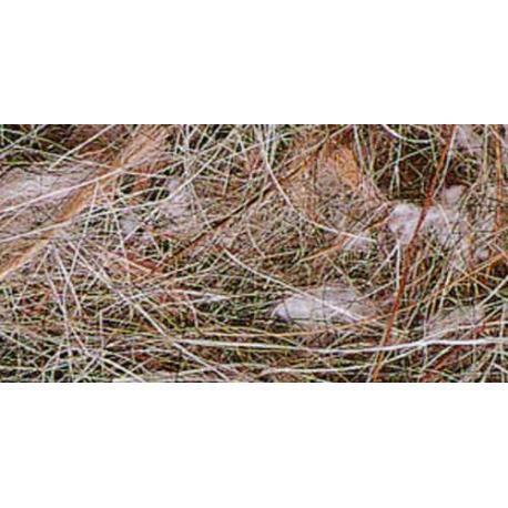Material natural para nidos de Pelo Mixto animal vegetal bolsa 100grm