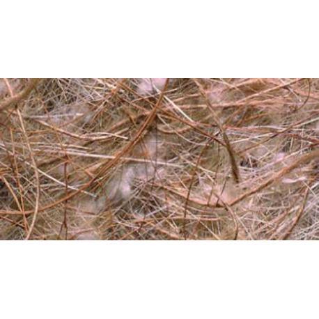 Material natural para nidos de Pelo de Coco Sisal Yute y Algodón