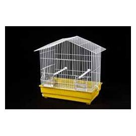 Jaula para pájaros CATEDRAL 2 comedros 415x420x240mm