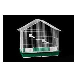 Jaula para pájaros ROLA 2 comederos