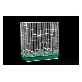Jaula para pájaros Doble Alta 4 comederos 615x580x315mm
