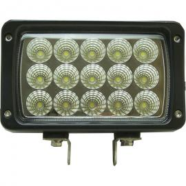 Foco de trabajo rectangular 45w 15led