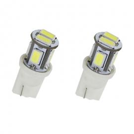 Luz de led pareja cambus 8 led T10