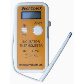 Termómetro Digital para incubadora Calibrado con certificado Spot Check BRINSEA