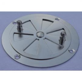 Rejilla para ventilación en incubadoras caseras 85mm económica Galva