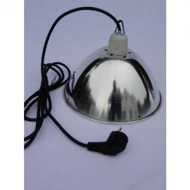 Reflector de aluminio sin accesorios y diámetro de 30cm