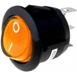 Interruptor con luz AMBAR