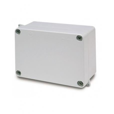 Caja plástica estanca ciega para montaje 153x110x63mm