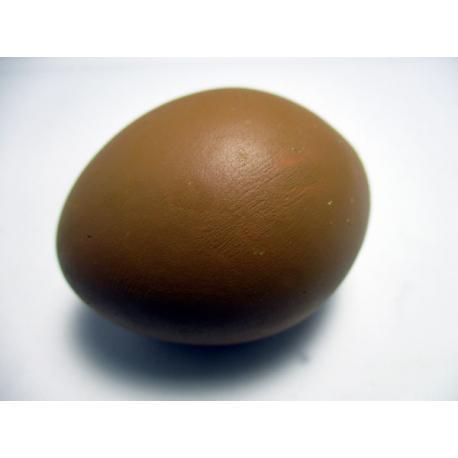 Huevo de Gallina Oscuro cerámico simulado