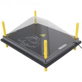 Tapa de protección para paneles CALENTADORES 40X50CM, Plástica