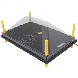 Tapa de protección para paneles CALENTADORES 40X60CM, Plástica