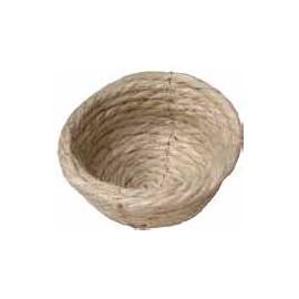 Soporte plástico con amarres para nido de pájaros