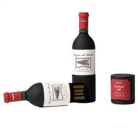 Memoria USb 16 Gb Botella de vino Marques del pendrive TEC5127 16