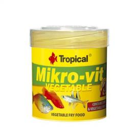 Comida para peces Tropical Mikrovit Vegetable 50ml