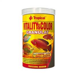 Comida para peces Tropical Vitality & Color Granulat 250ml