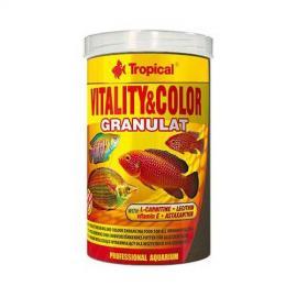 Comida para peces Tropical Vitality & Color Granulat 250ml