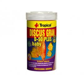 Comida para peces Tropical Discus Gran D-50 Plus Baby 250ml