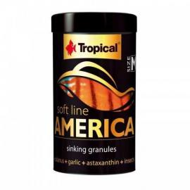 Comida para peces Tropical Soft Line America M 100ml