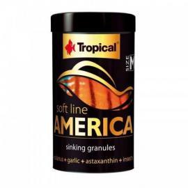 Comida para peces Tropical Soft Line America M 100ml