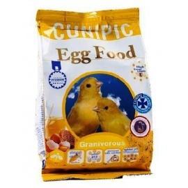 Pasta de cría amarilla Canarios CUNIPIC Egg food para granívoros 250GR