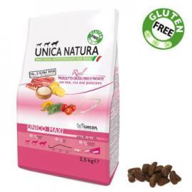 Comida para perros Unica Natura Maxi con Jamón Arroz y patata 2,5k