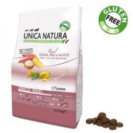 Comida para perros Unica Natura Maxi con Salmón Arroz y Guisantes 12k