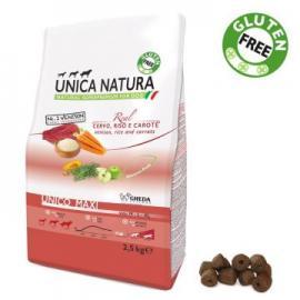 Comida para perros Unica Natura Maxi con Venado Arroz y Zanahoria 2.5 kg