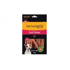 Tail Swingers Premio para perros palitos blandos de pato 100gr