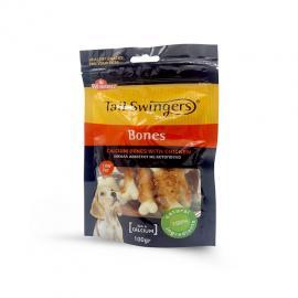 Tail Swingers Premio para perros huesitos de calcio con pollo 100gr