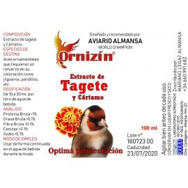 ORNIZIN ORNIZIN Extracto de Tagete y Cartamo 100 Ml