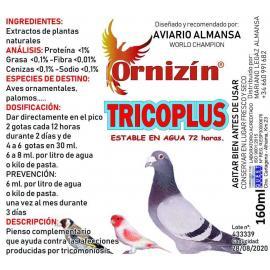 ORNIZIN Tricoplus complemento contra afecciones por tricomoniosis 160 ML