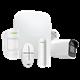 Kit Alarma Hogar Ajax Inalámbrico 868 MHz Jeweller con Cámara IP Compacta Certificado Grado 2 Conexion Ethernet GPRS