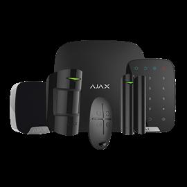Kit Alarma Hogar Ajax Inalámbrico 868 MHz Jeweller con Detector PIR, Magnetico, Sirena interior, Mando y Teclado