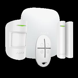 Kit Alarma Hogar Ajax Inalámbrico 868 MHz Jeweller Comunicación Wi-Fi, 3G Dual SIM y Ethernet Hasta 150 entradas inalámbricas