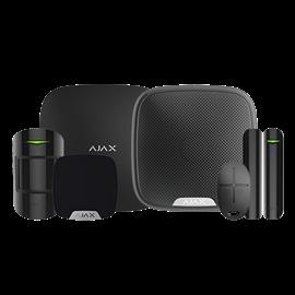 Kit Alarma Hogar Ajax Profesional Inalámbrico 868 MHz Jeweller Comunicación Ethernet y GPRS Hasta 100 dispositivos inalámbricos