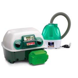 Incubadora River Systems digital automática 12 huevos / 48 cordoniz Con unidad de Humedad Automática