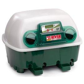 Incubadora River Systems digital semiautomática 12 huevos / 48 cordoniz