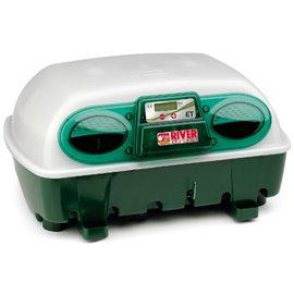 Incubadora River Systems digital semiautomática 24 huevos / 96 cordoniz