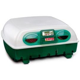 Incubadora River Systems digital semiautomática 49 huevos / 196 cordoniz