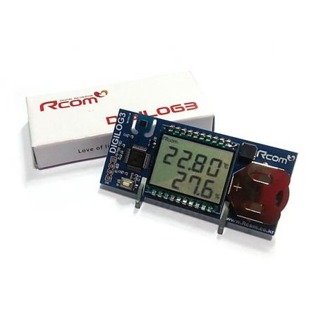 Termometro higrómetro Digital R-Com con panel