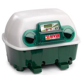 Incubadora River Systems digital automática 12 huevos / 48 cordoniz